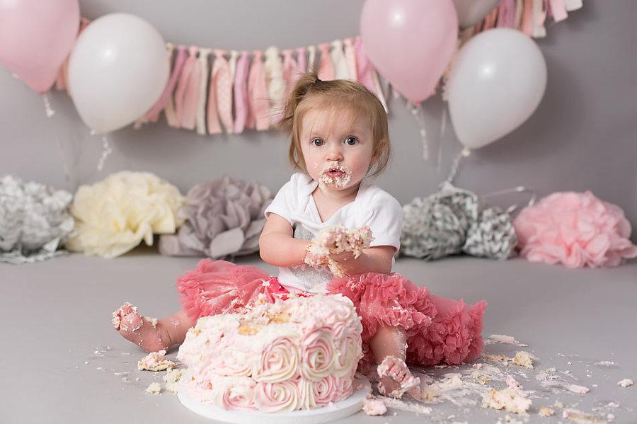 Cake Smash Session From K D Elise Photography
