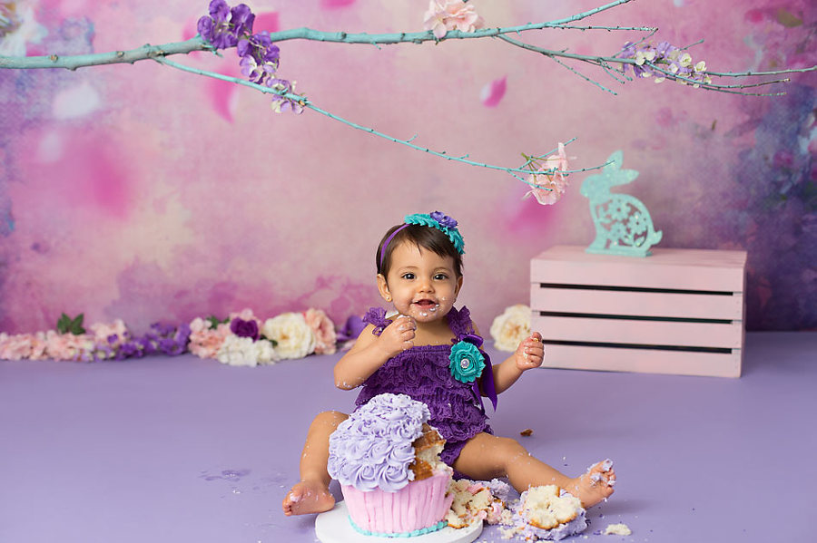 Cake Smash Session From K D Elise Photography